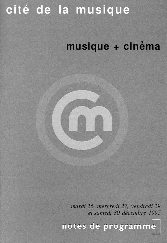 Musique + cinéma |