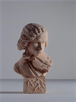 Portrait-charge de Henri Vieuxtemps (1820-1881)   Dantan, Jean-Pierre