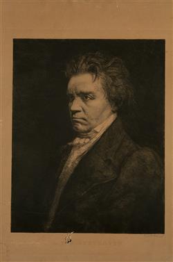 Portrait de Ludwig van Beethoven (1770-1827)   Dake, Carel-L.