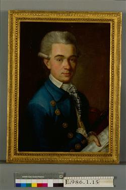 Portrait de Giovanni Battista Viotti (1755-1824) | Ecole française