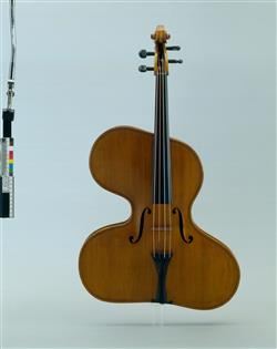 "Violon irrégulier ""violino harpa forma magna""   Thomas Zach"