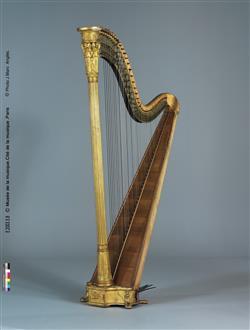 Harpe à double mouvement   Maison Erard