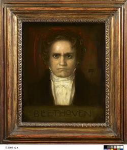 Portrait de Ludwig van Beethoven   Stuck, Franz von