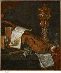 Nature morte aux instruments de musique | Ecole française