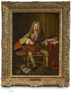 Portrait de Marin Marais | Atelier André Bouys
