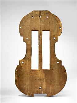 Moule de basse de viole | Antonio Stradivari