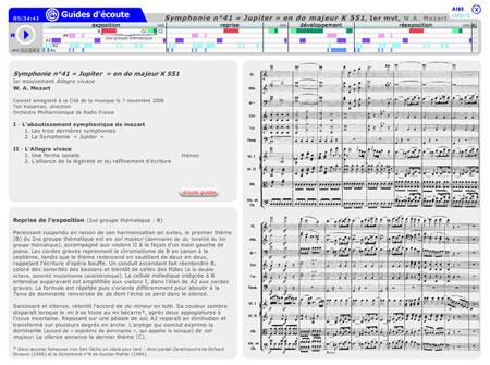 "Symphonie no 41 ""Jupiter"" K 551 de Wolfgang Amadeus Mozart, 1er mouvement ""Allegro vivace"" | Wolfgang Amadeus Mozart"