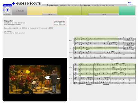 Rigaudon (extrait de la suite Dardanus) de Jean-Philippe Rameau | Jean-Philippe Rameau