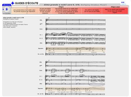 Alma grande et nobil core K. 578, de Wolfgang Amadeus Mozart   Wolfgang Amadeus Mozart