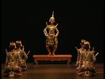 Le Cambodge, renaissance de la tradition khmère. Preah Sothun (création), danse classique | Norodom Buppha Devi