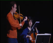 D'une seule voix pour violon et violoncelle : extrait | Les Siècles