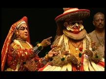 Formes brèves, formes longues. L'épopée du Ramayana III. Théâtre kathakali (Inde du Sud) : Lavanasura Vadham (la mort du démon Lavanasura)   Ekathara Kalari